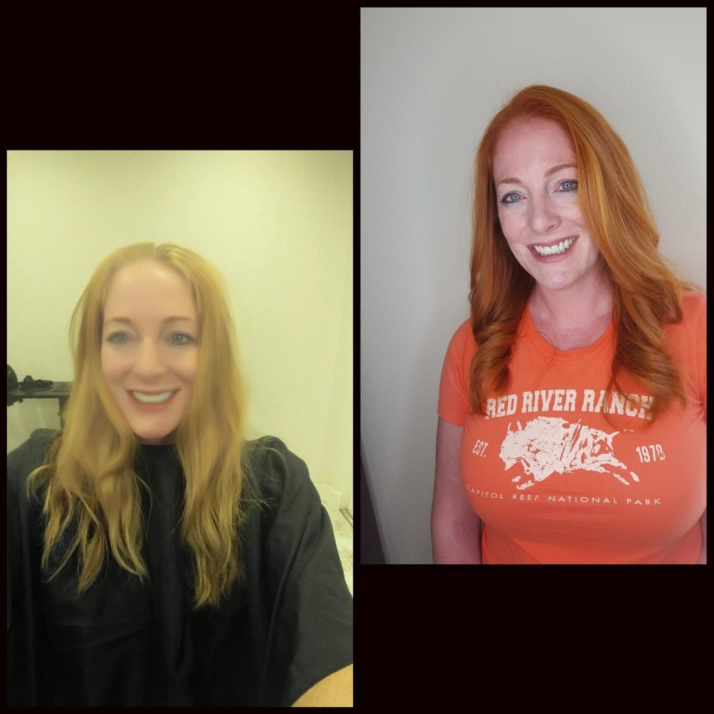 Before and After Hair 5