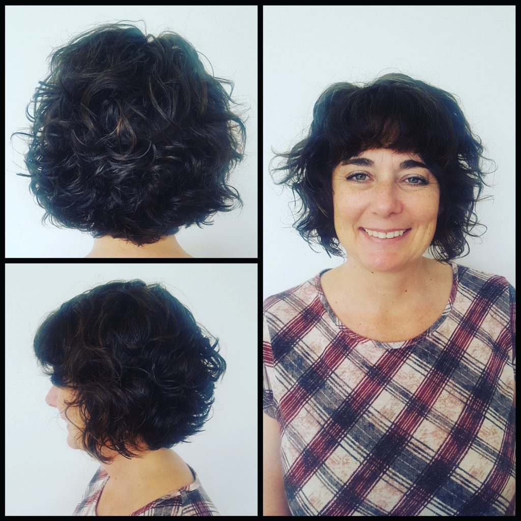 Curly Bob Haircut