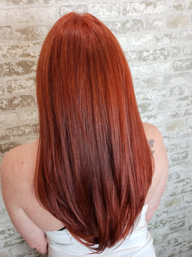 Ruby Red Hair